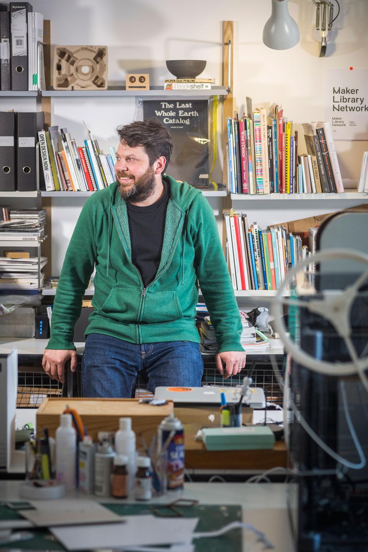 Daniel Charny, Professor of Design, Kingston University. © Gareth Gardner