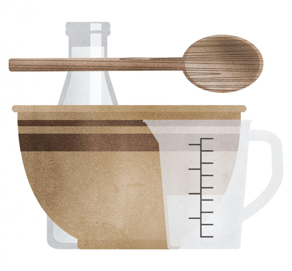 Doves Farm gluten free flour, packaging design, Studio h 3