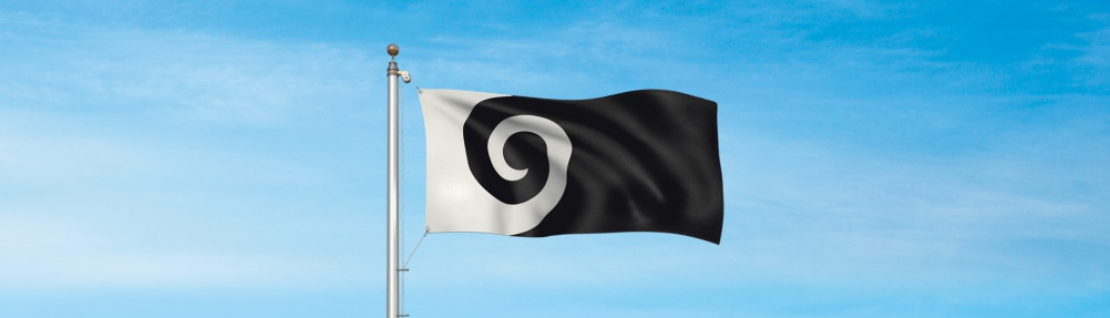 Koru, by graphic designer Andrew Fyfe
