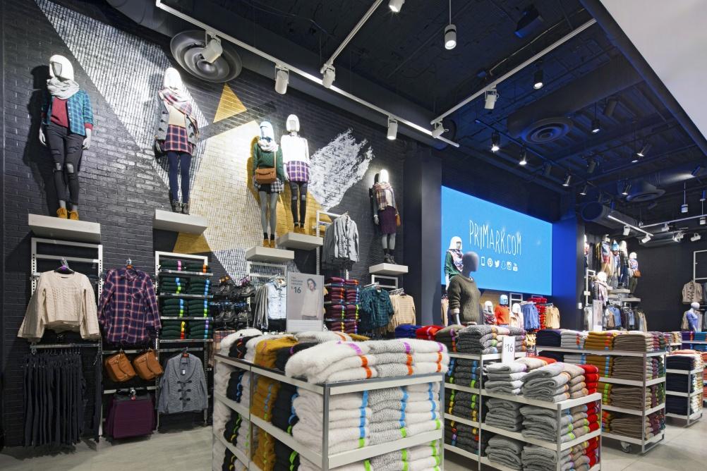 Boston Clothing Store Primark