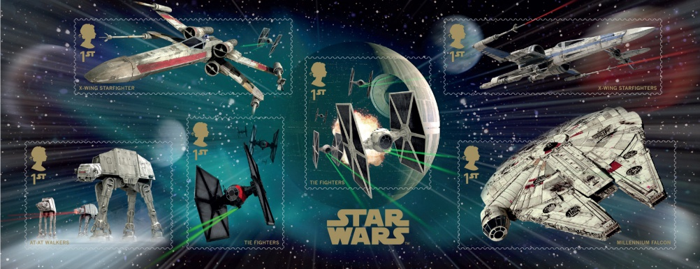 Star Wars miniature sheet, by GBH