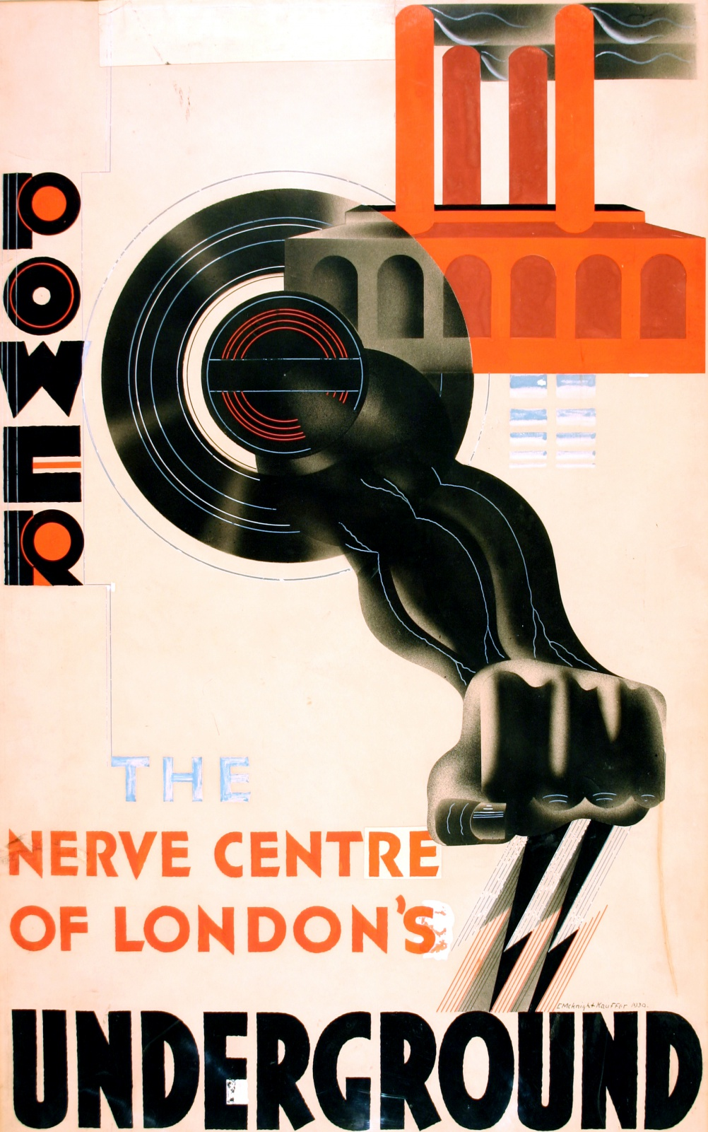 Power, by Edward McKnight Kauffer, 1930