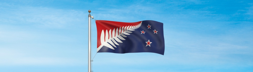Silver Fern (Red, White and Blue), by architect Kyle Lockwood