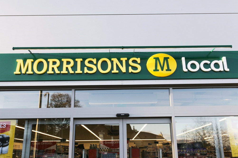 © Chris Bull. Courtesy of Morrisons.
