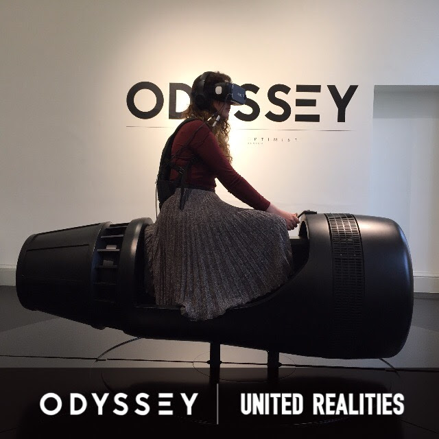 """Myself concentrating heavily while aboard the Odyssey """"space shuttle"""""""