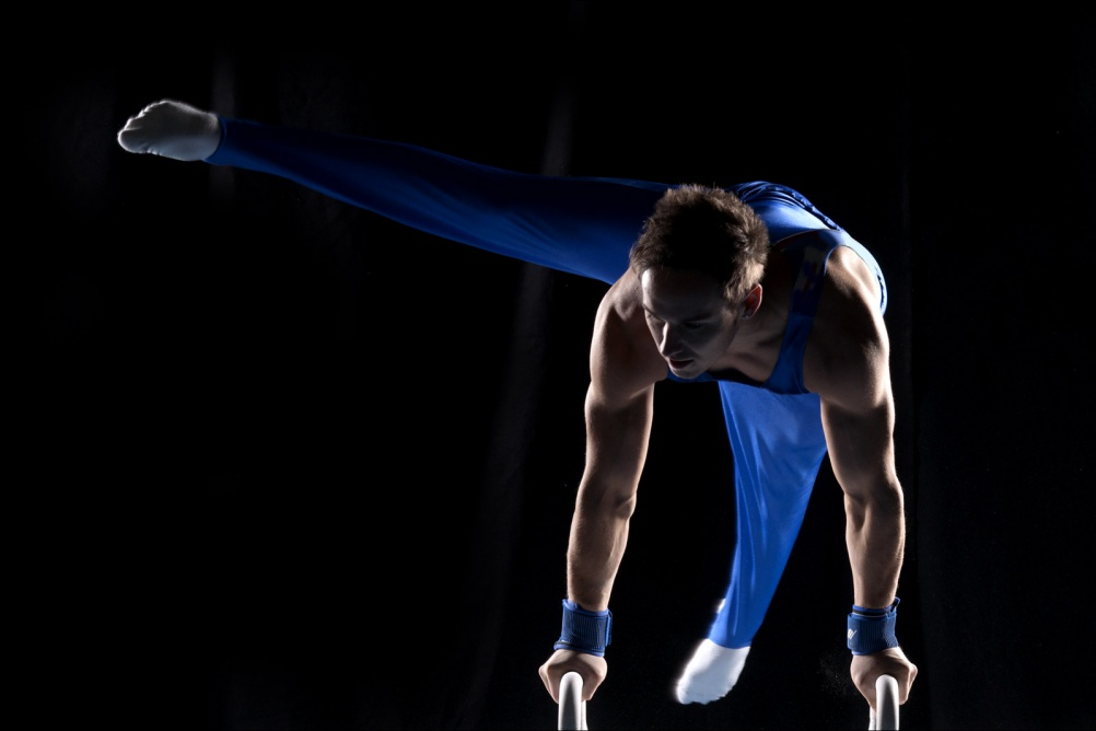 1. Dan Keatings_Olympic Gymnast_Front Page