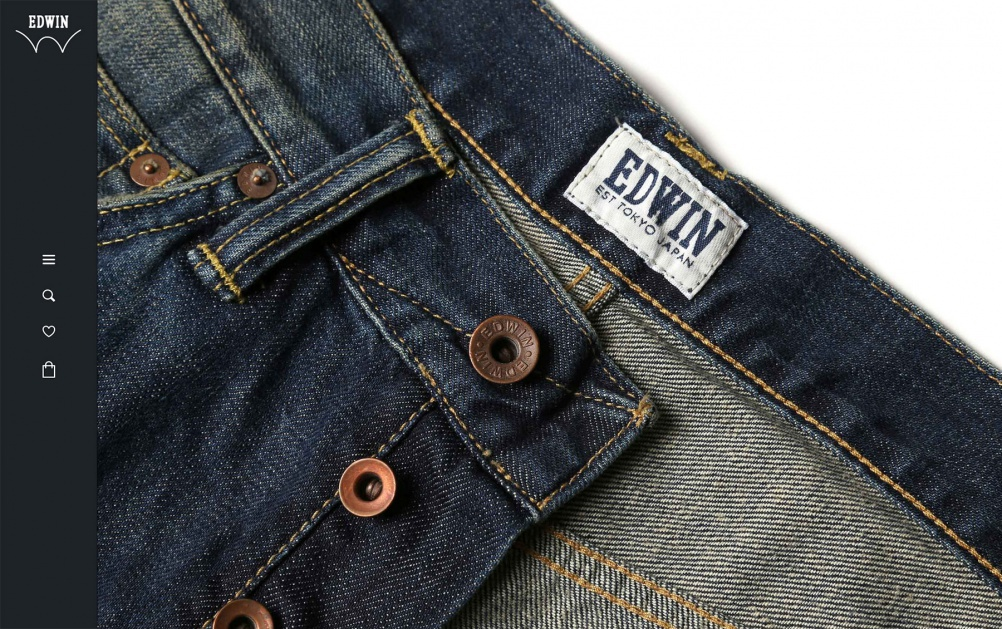 Sennep picked up Gold and Silver awards for its Edwin Jeans website
