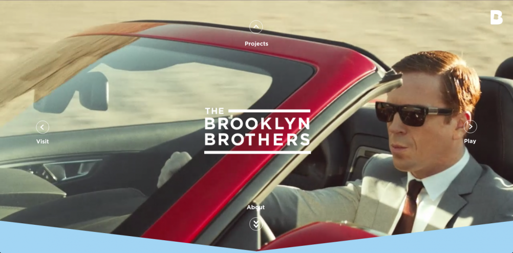 "The Brooklyn Brothers website – ""steps away from the norm"""