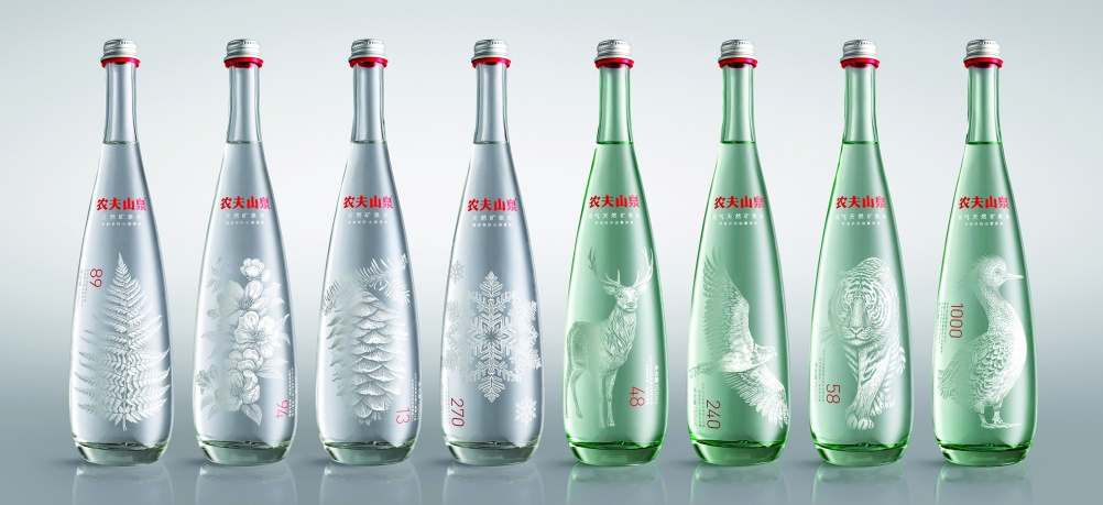 Nongfu Mineral Water, by Horse