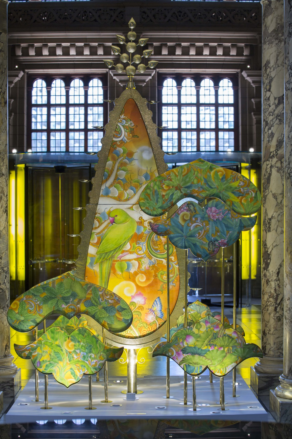 Kalpatharu: The Wishing Tree, by Sarthak and Sahil at the V&A, 2015. © Victoria and Albert Museum, London
