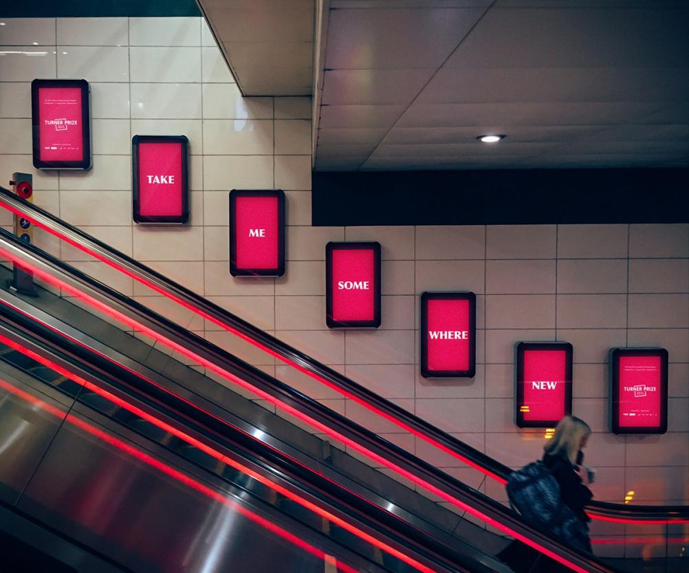 Tangent Graphic's Turner Prize branding