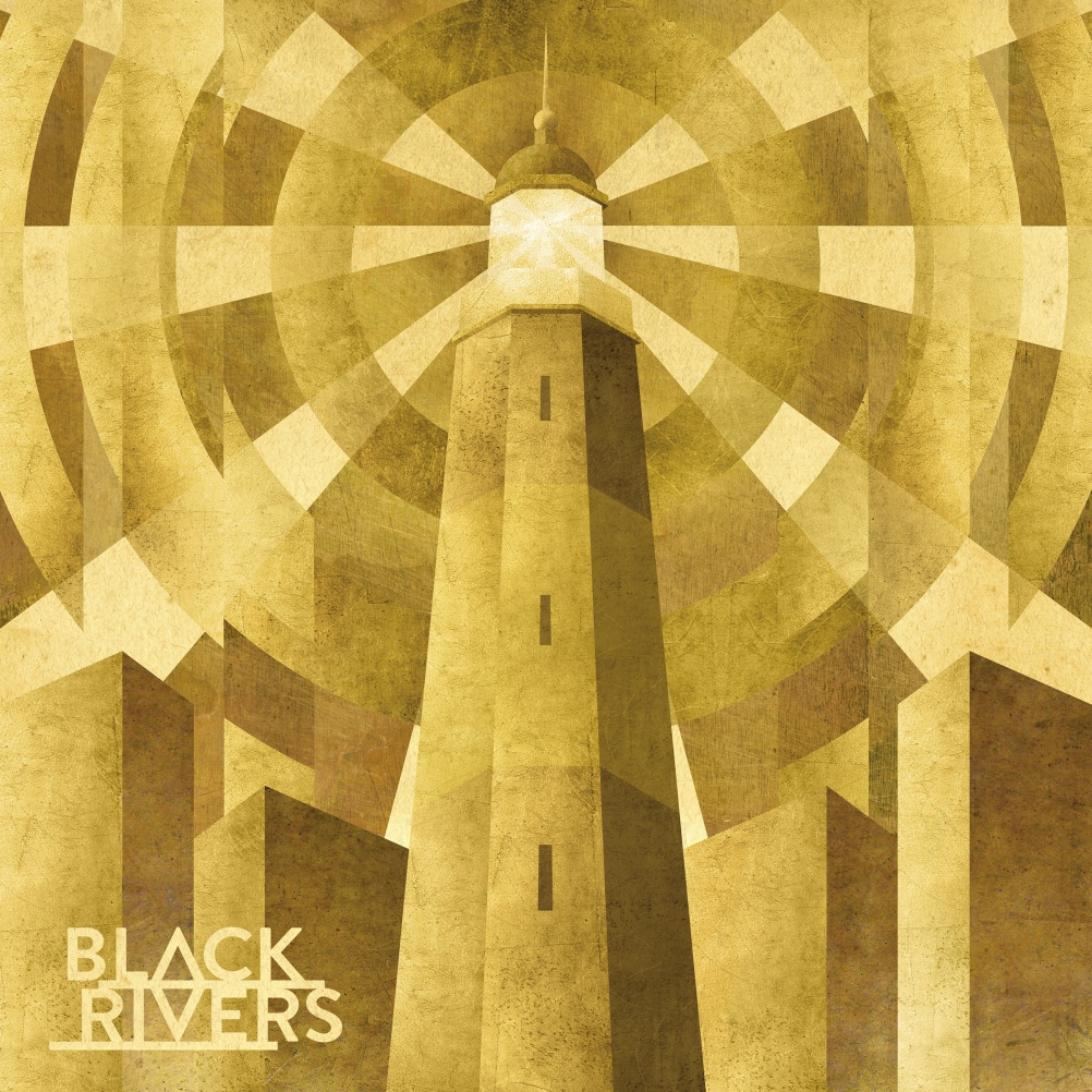 Black Rivers - Black Rivers. Illustration & Design Matthew Cooper; Logo design Jason Hyde