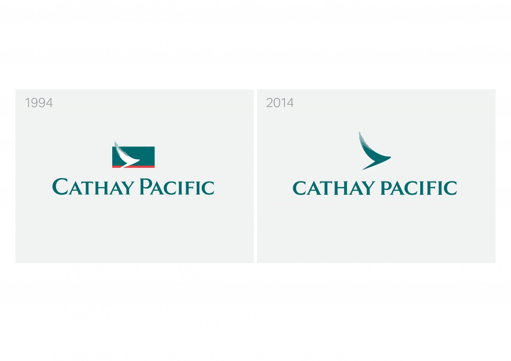 Cathay Pacific logo evolution