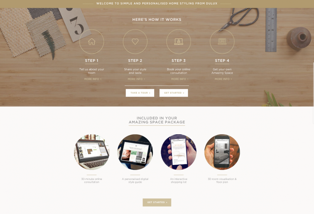 Dulux introduces online interior design consultation for Interior design consultation services