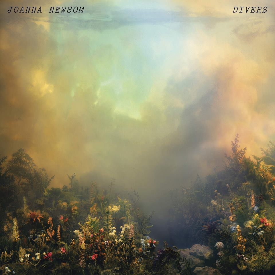 Joanna Newsom - Divers. Cover features Wildflowers 52i by artist Kim Keever