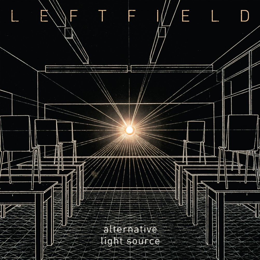 Leftfield - Alternative Light Source. Cover Image 'School (Classroom)' 1989 by Mark Wallinger