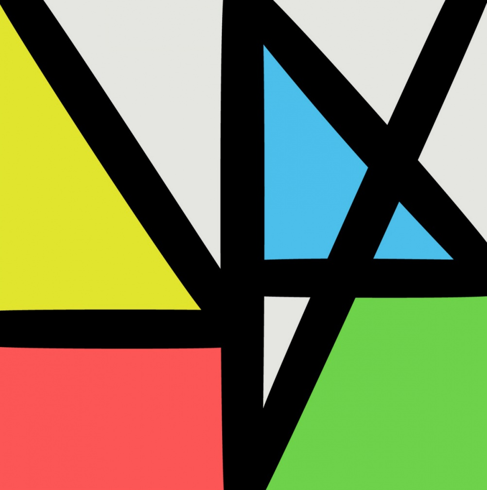 New Order - Music Complete. Design by Peter Saville