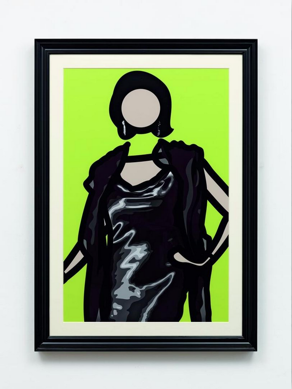 Julian Opie, Maria (1), 2011. Courtesy of Julian Opie and Alan Cristea Gallery.
