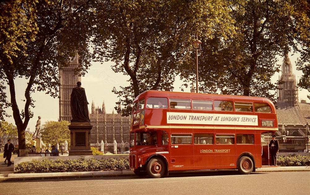 Routemaster then, 1961