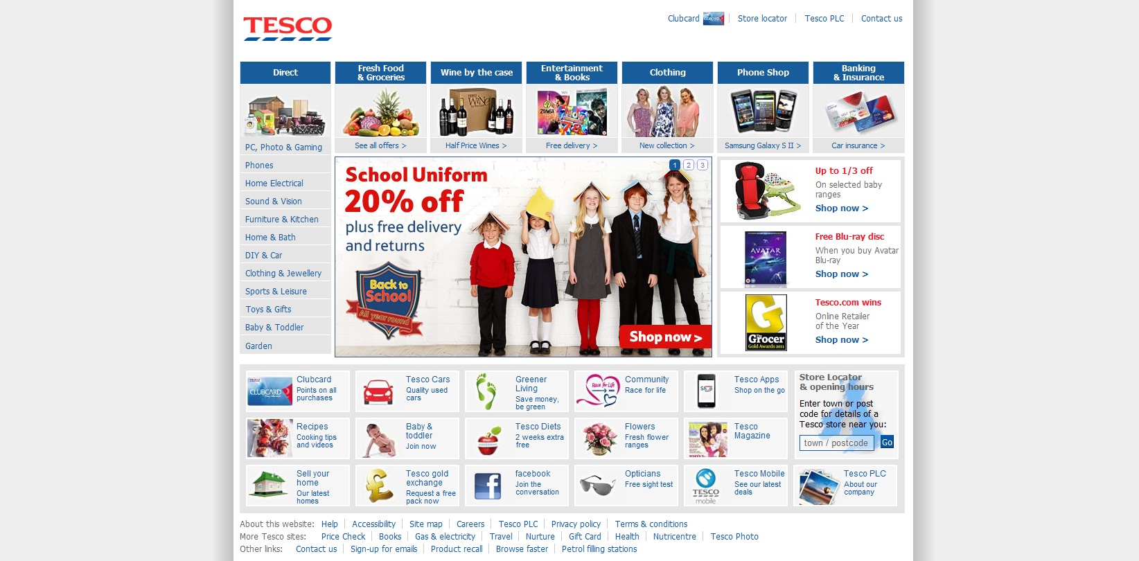 tesco e business Title e-business strategy review report for tescocom 1 e-business  management summary the main purpose of this report is to review and analyse  one of.