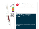 Marketing Budgets 2012 Report