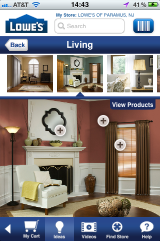 Lowe's mobile app is worth writing home about – Econsultancy