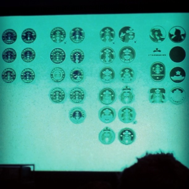 A blurry version of the sample logos
