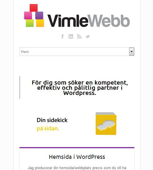 自适应网页设计案例