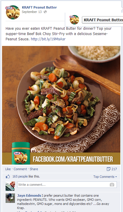 Kraft on facebook tried and tested content marketing econsultancy kraft cheese forumfinder Images