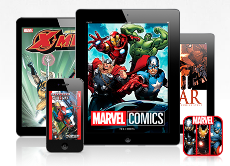 marvel comics digital