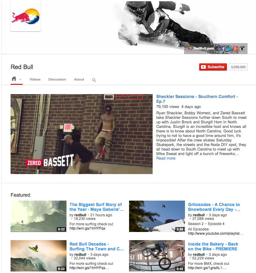 RedBull Rebrand   Time lapse Video Case Study   YouTube YouTube