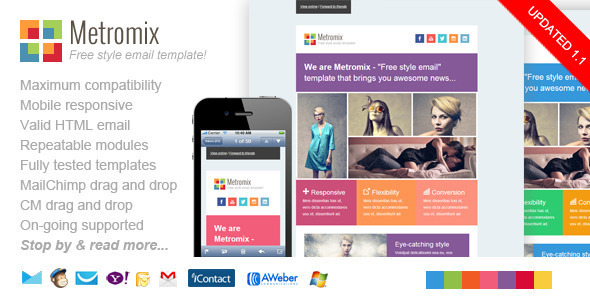 Excellent Responsive Email Templates For Small Businesses