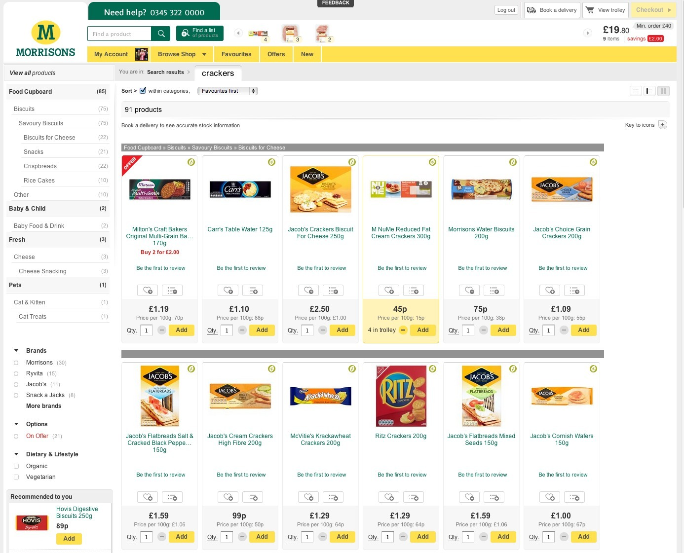 Morrisons launches first ecommerce store: is it any good? - Econsultancy