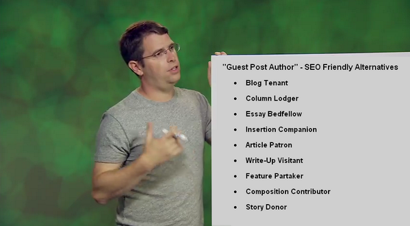 Matt Cutts declares the death of guest blogging for SEO