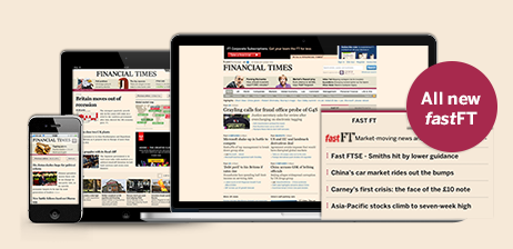 ft subscription page