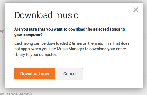 play music download limit