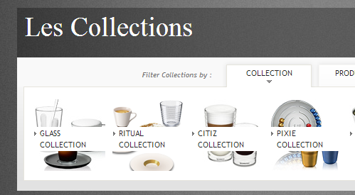 nespresso collections