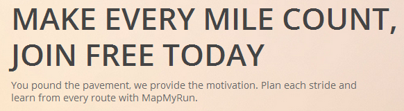 make every mile count, join free today