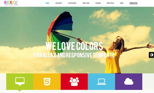 12 mesmerising parallax scrolling templates for WordPress | Econsultancy