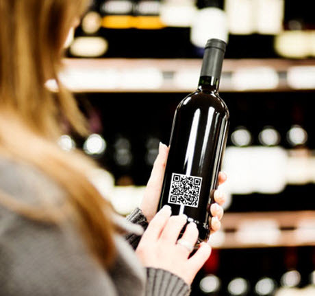 qr wine