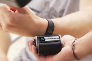 caixa contactless wristband