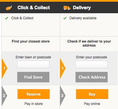 dettaglio del check-out e carrello e-commerce omnicanale