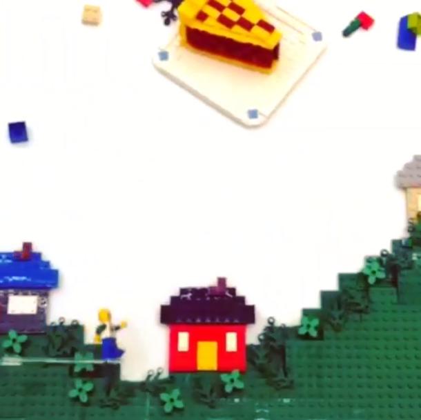 LEGO انستقرام