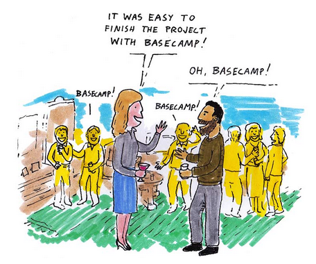 basecamp cartoon