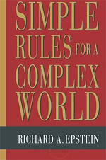 Book Cover: Simple Rules for a Complex World