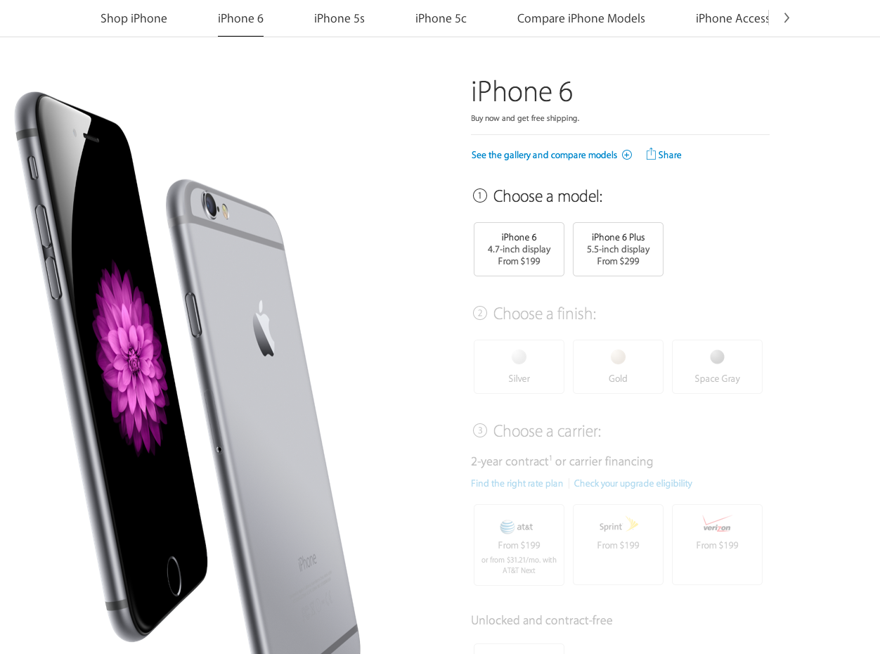 Apple: the customer journey from search to checkout