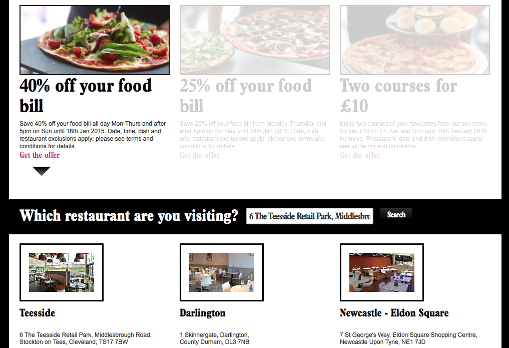 Eight Useful Ux Tips From Christmas Sales Emails Econsultancy