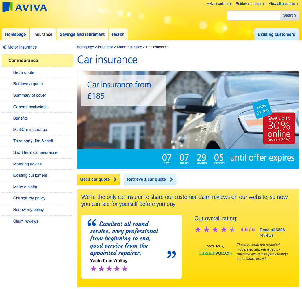Life Insurance Quotes Compare The Market: How Insurance Companies Use Search Marketing: Aviva