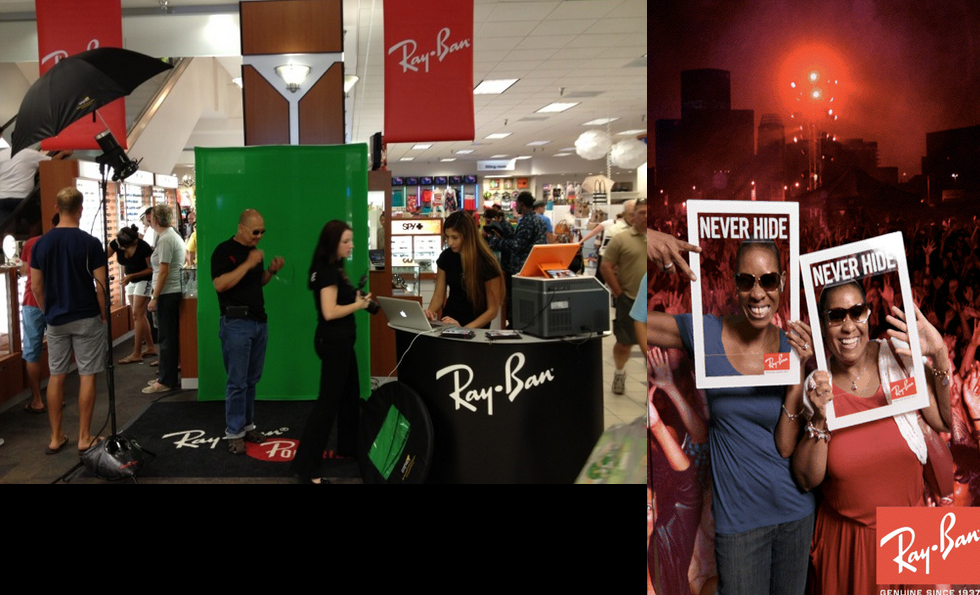 Ray-Ban-never-hide-consumer-activation