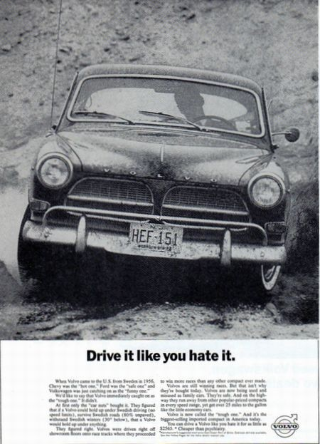 volvo advert